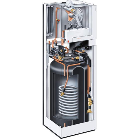 Boiler à condensation haute performance pour eau chaude sanitaire