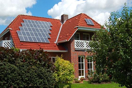 Panneau solaire en Suisse